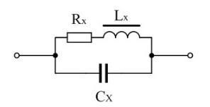 图1电感线圈的等效电路图