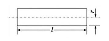 图3圆截面直导线的电感图